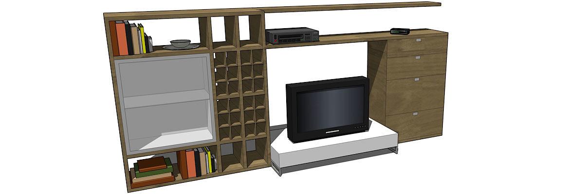 entwerfen mit sketchup grundstufe bildungszentrum schweinfurt. Black Bedroom Furniture Sets. Home Design Ideas